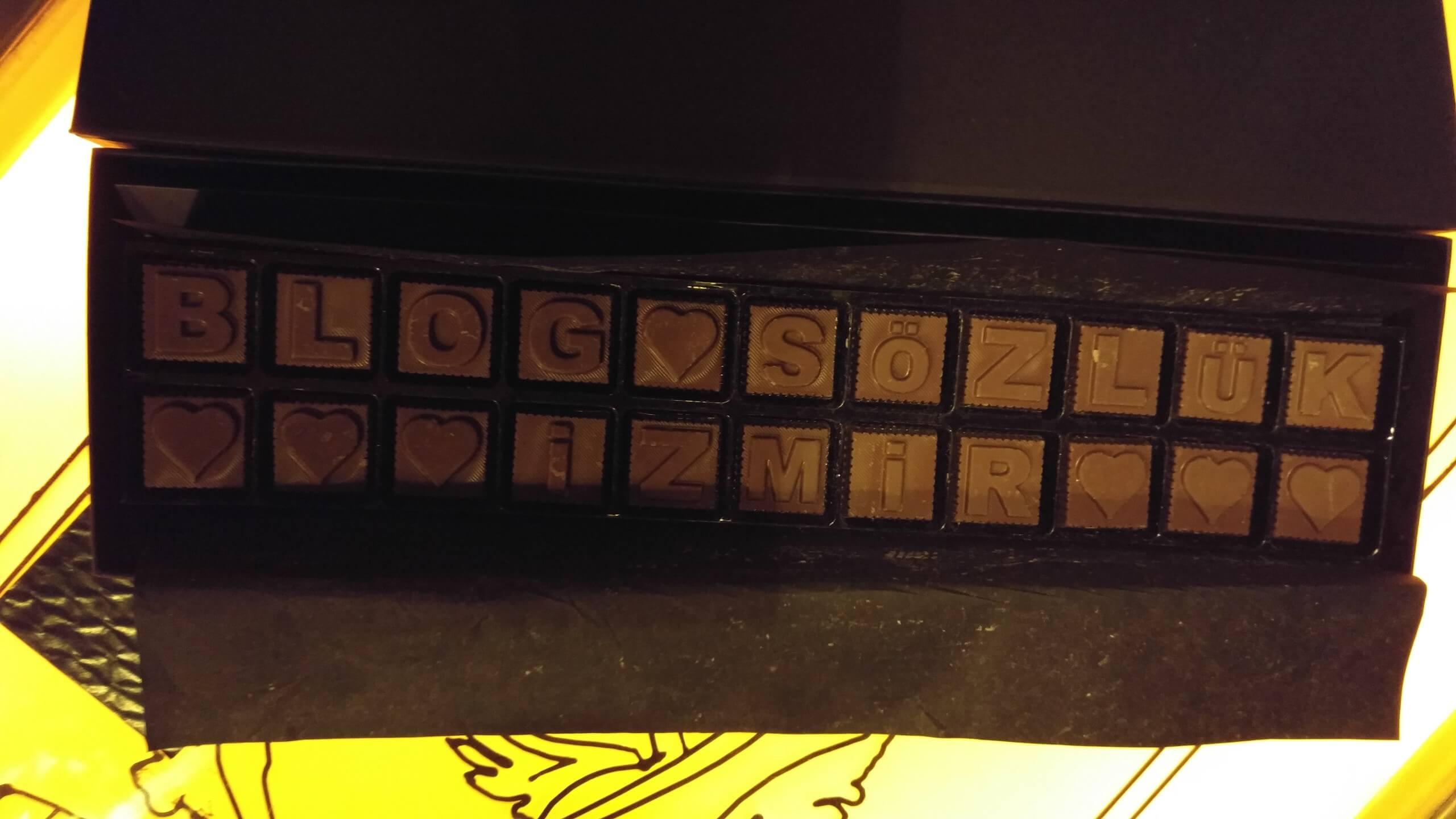 blog sözlük izmir zirvesi çikolatası
