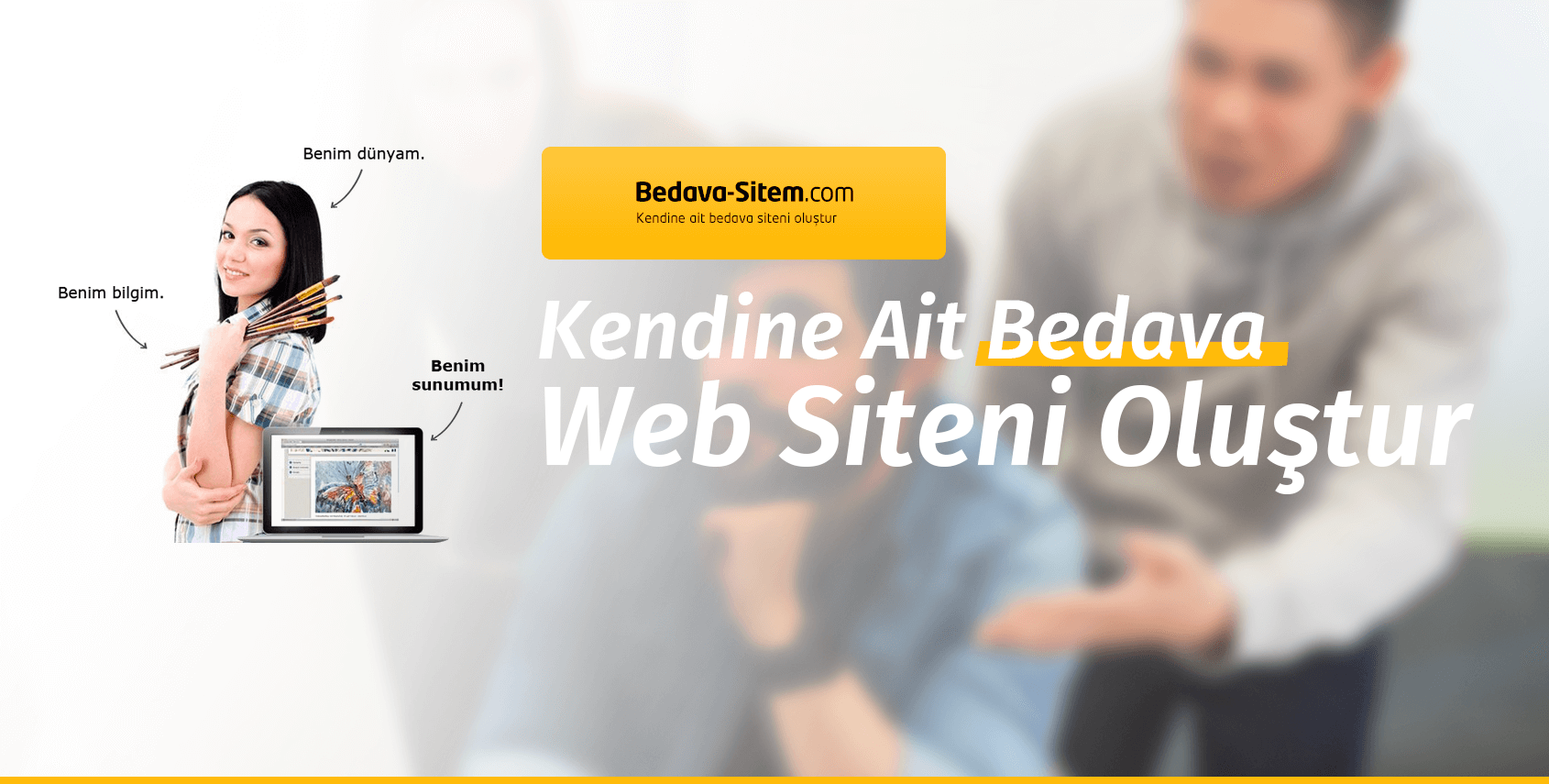 Ücretsiz Etkili Web Sitesinizi Oluşturun: Bedava-Sitem